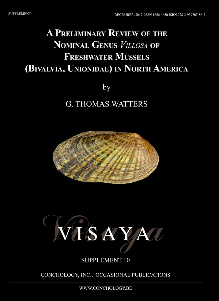 A Preliminary Review of the Nominal Genus Villosa of Freshwater Mussels (Bivalvia, Unionidae) in North America