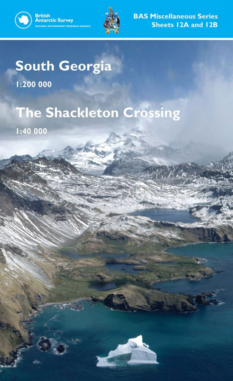 South Georgia / The Shackleton Crossing (Map)