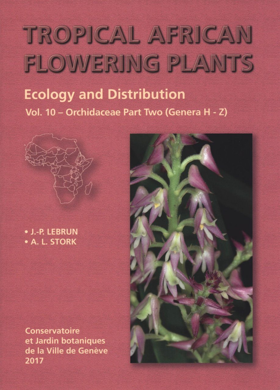 Tropical African Flowering Plants: Ecology and Distribution, Volume 10