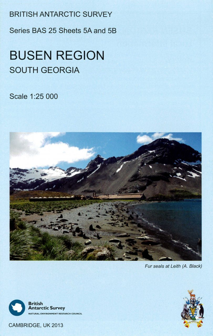 Busen Region, South Georgia (map)