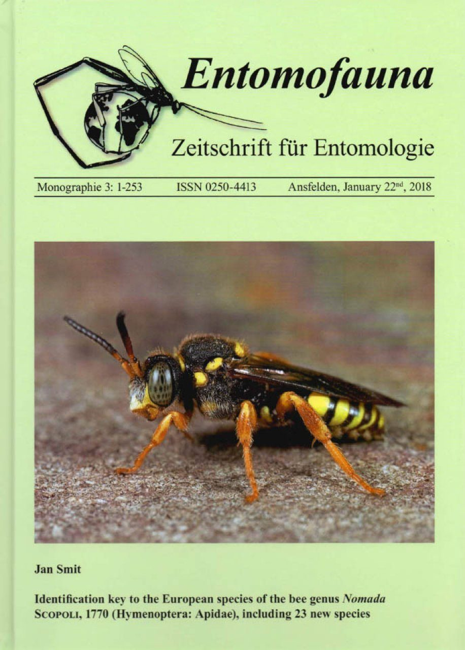 Identification Key to the European Species of the Bee Genus Nomada Scopoli, 1770 (Hymenoptera: Apidae), Including 23 New Species