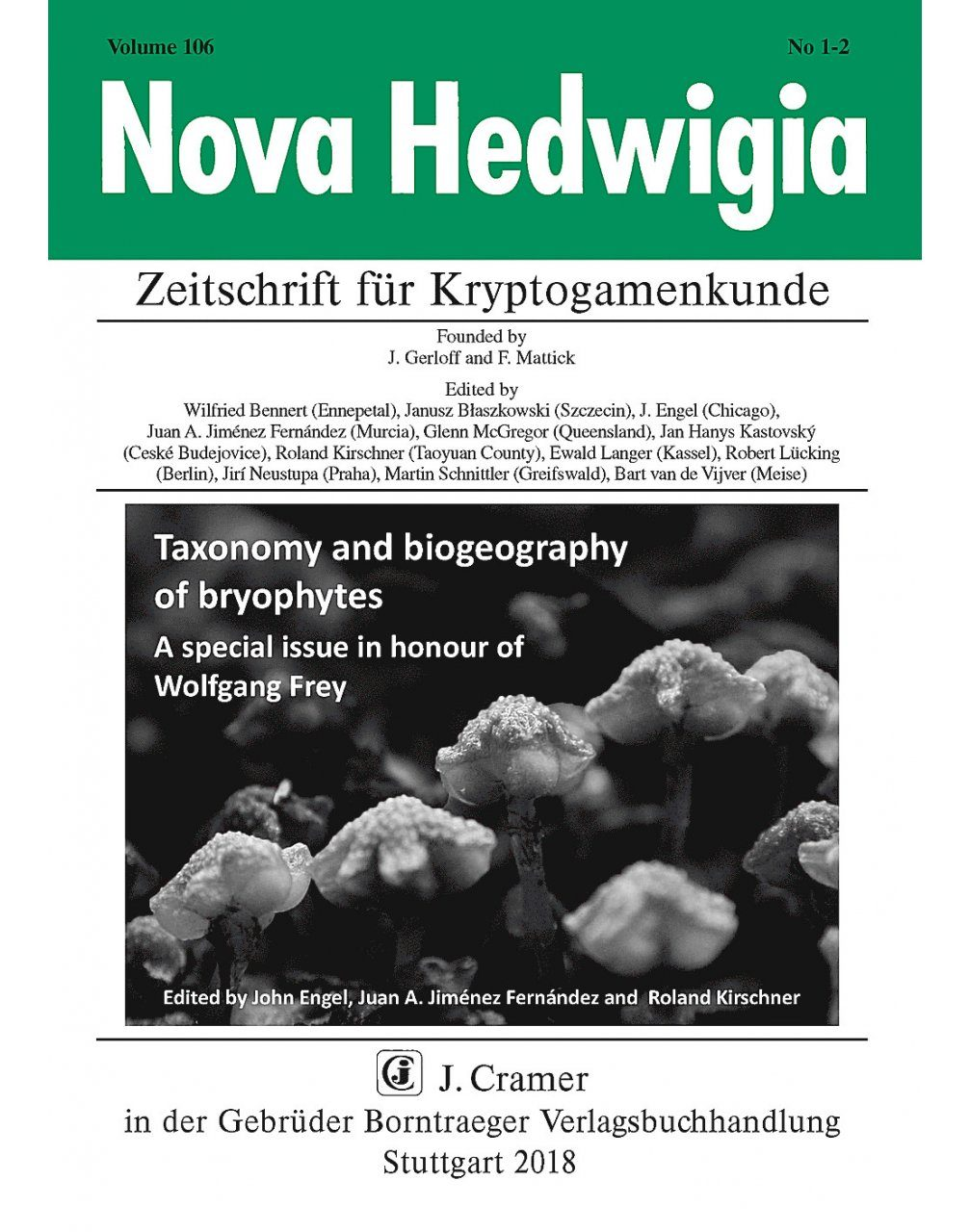 Taxonomy and Biogeography of Bryophytes