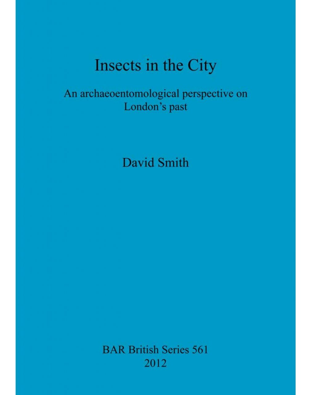 Insects in the City