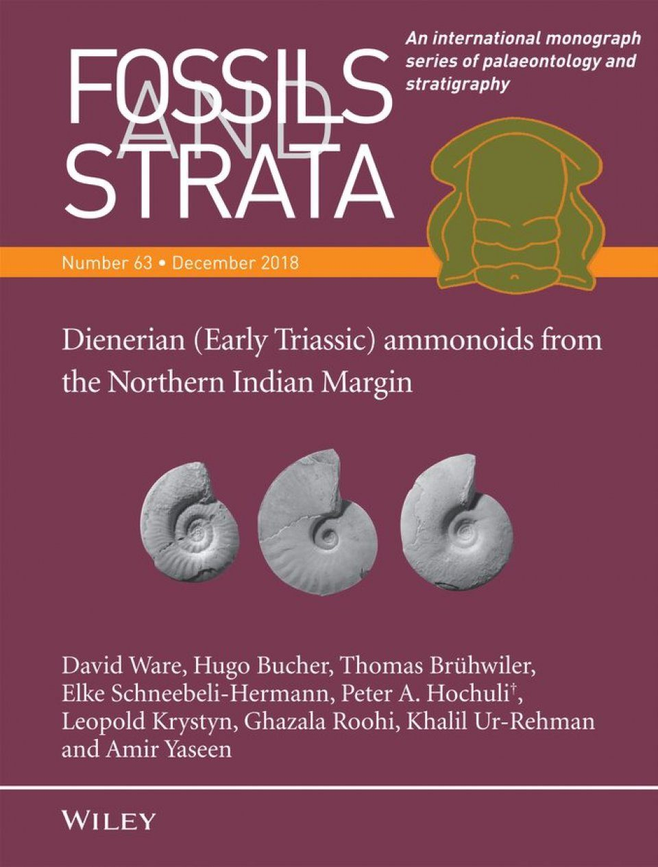 Dienerian (Early Triassic) Ammonoids from the Northern Indian Margin