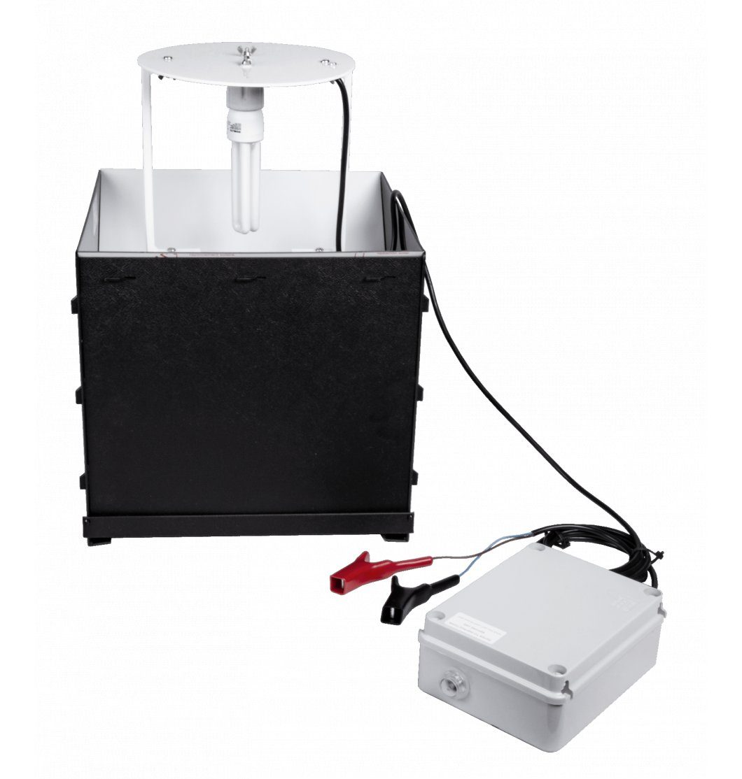 Compact 20W Actinic Skinner Moth Trap (12V)