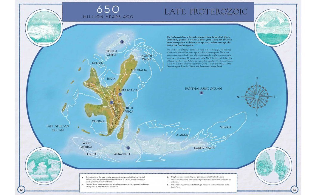Continental Drift The Evolution of Our World from the Origins of Life to the Far Future