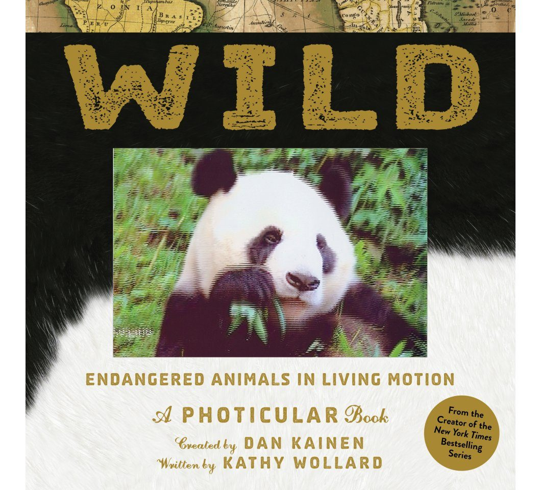 Wild: Endangered Animals in Living Motion – A Photicular Book