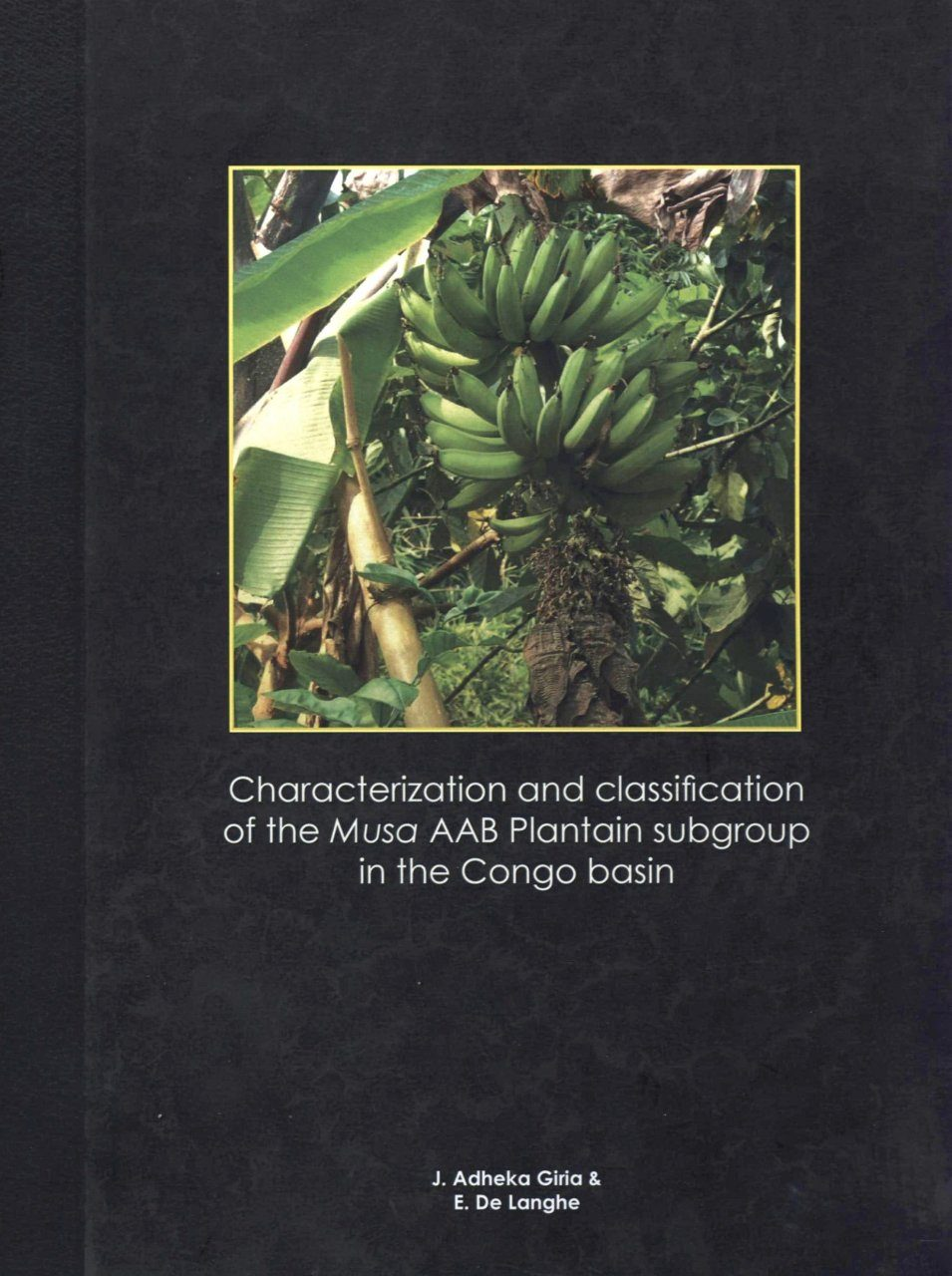Characterization and Classification of the Musa AAB Plantain Subgroup in the Congo Basin