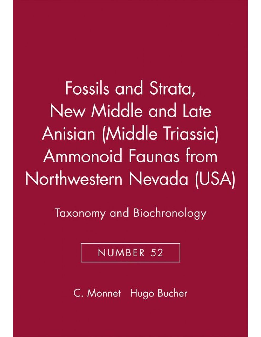 New Middle and Late Anisian (Middle Triassic) Ammonoid Faunas from Northwestern Nevada (USA)
