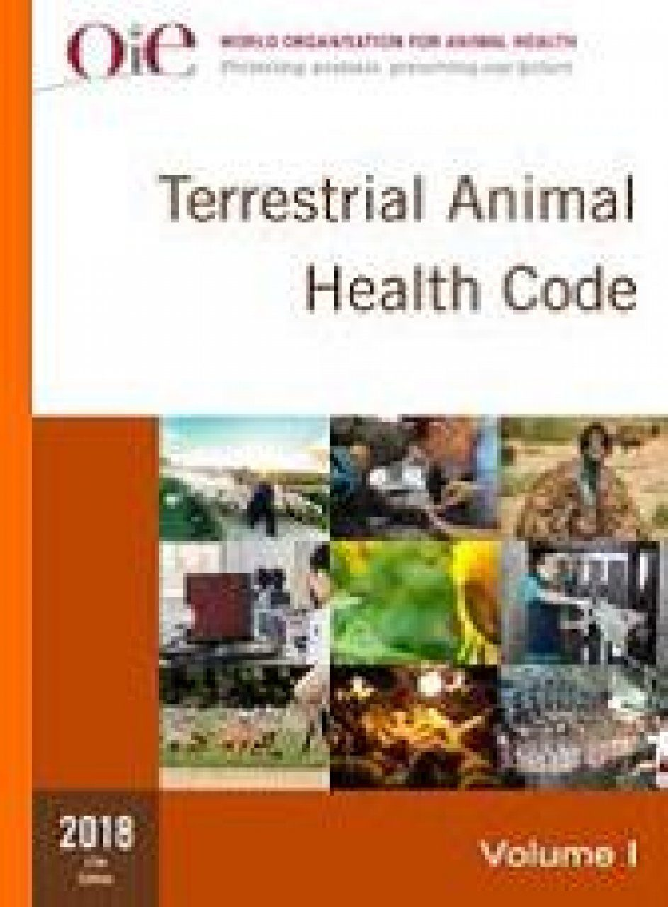 Terrestrial Animal Health Code 2018 (2-Volume Set)