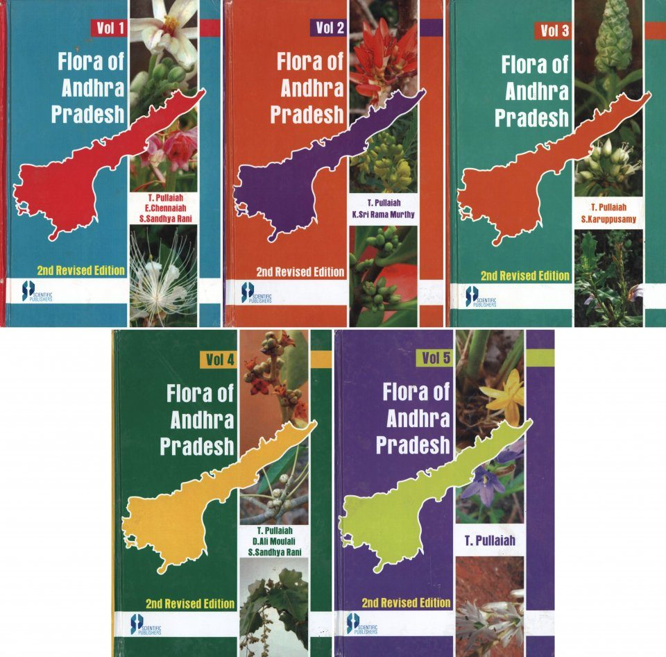 Flora of Andhra Pradesh (5-Volume Set)