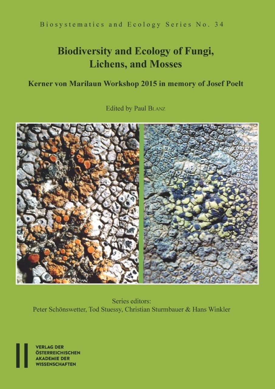 Biodiversity and Ecology of Fungi, Lichens, and Mosses