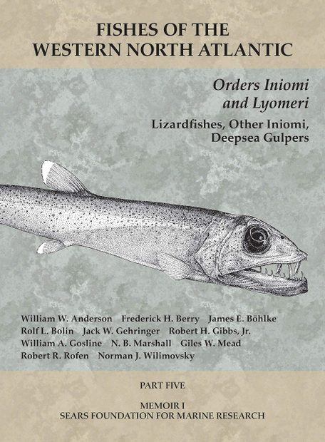 Fishes of the Western North Atlantic, Part 5