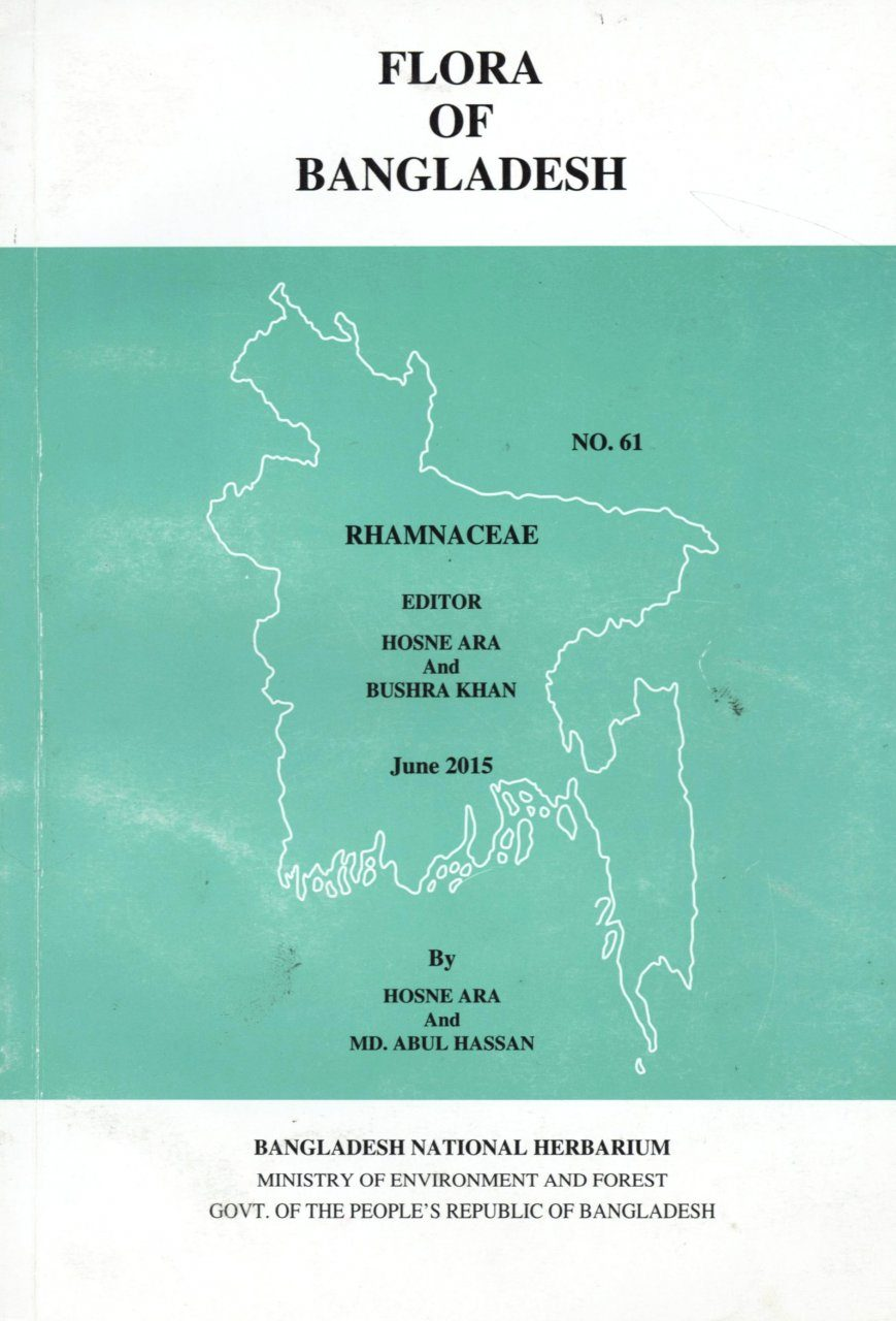 Flora of Bangladesh, Volume 61: Rhamnaceae
