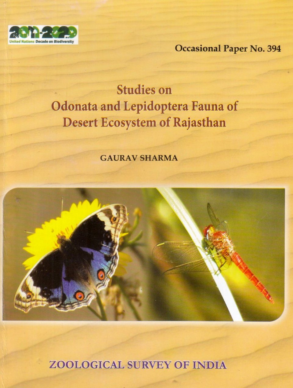Studies on Odonata and Lepidoptera Fauna of Desert Ecosystem of Rajasthan