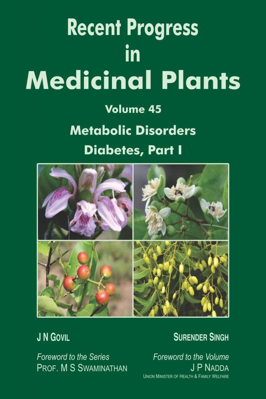 Recent Progress in Medicinal Plants, Volume 45: Metabolic Disorders: Diabetes I