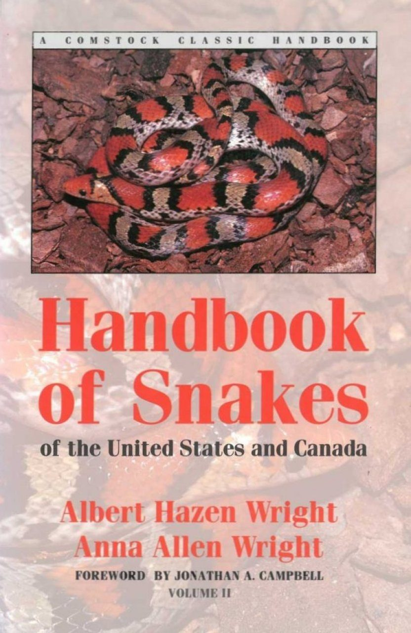 Handbook of Snakes of the United States and Canada, Volume 2