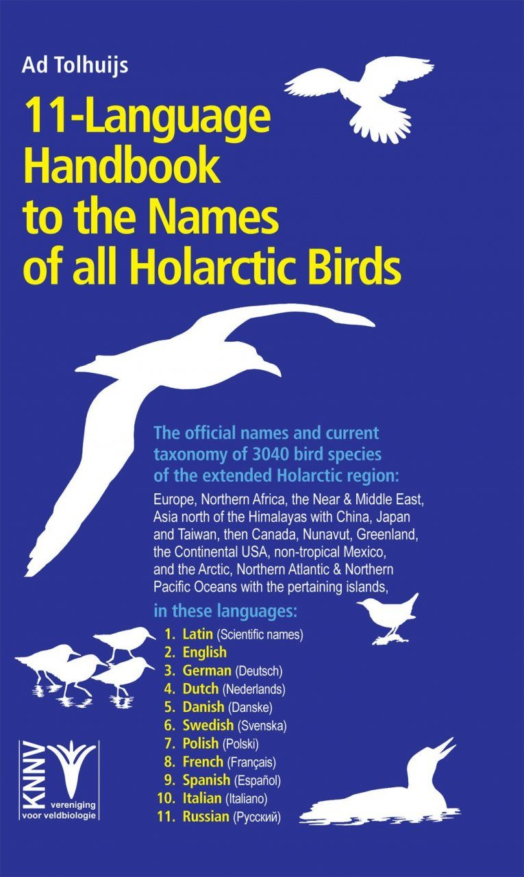 11-Language Handbook to the Names of All Holarctic Birds
