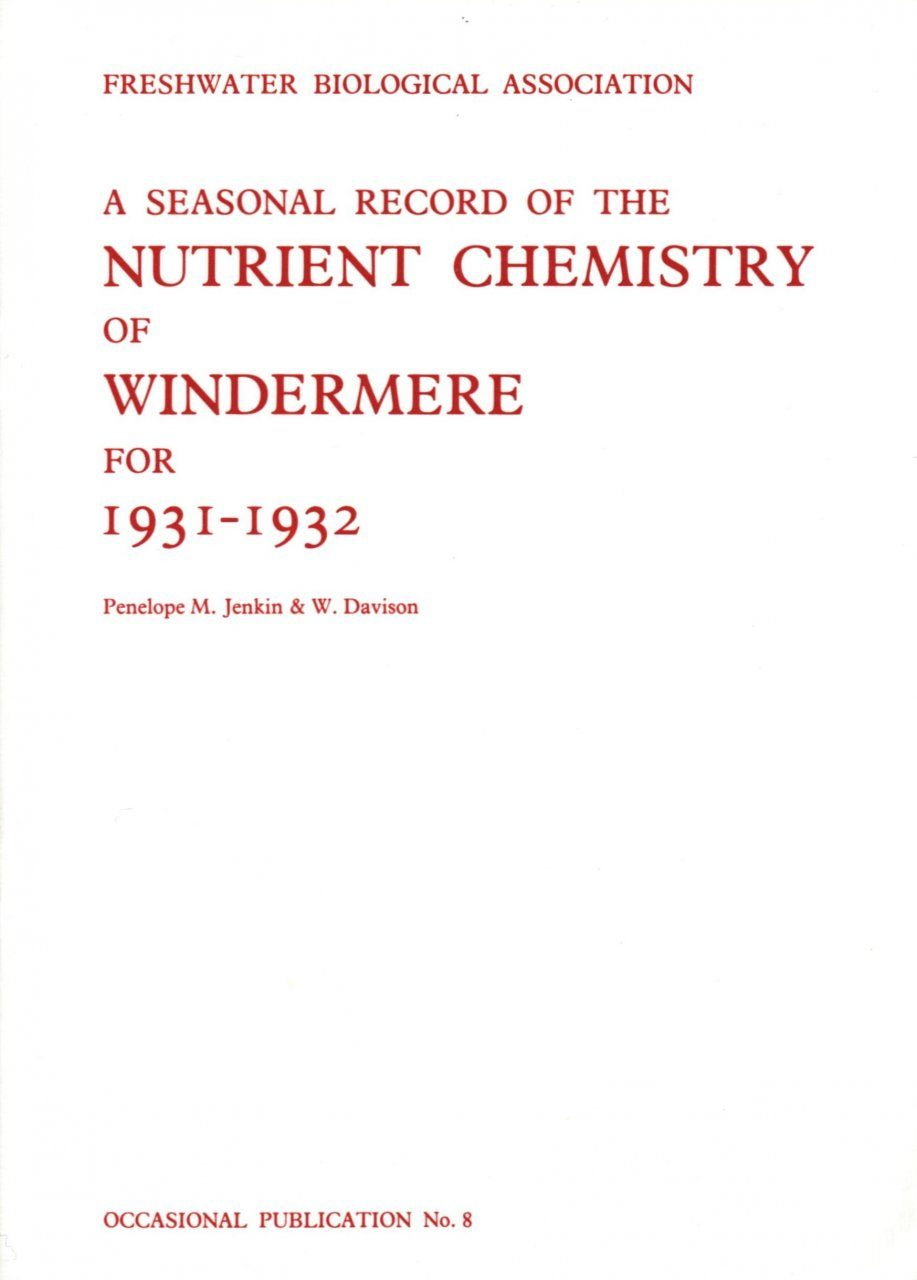 Windermere Chemistry