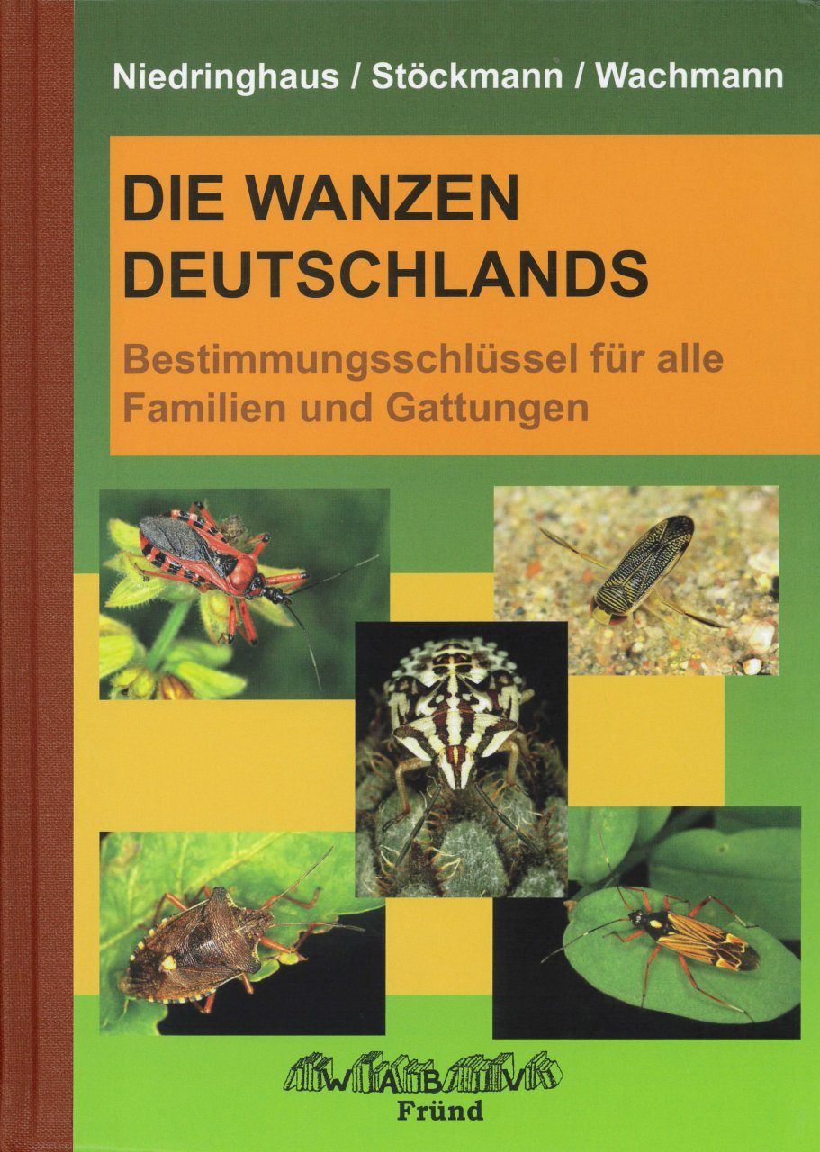 Die Wanzen Deutschlands, Teil 1: Bestimmungsschlüssel für alle Familien und Gattungen [The Bugs of Germany, Volume 1: Identification Key for all Families and Genera]