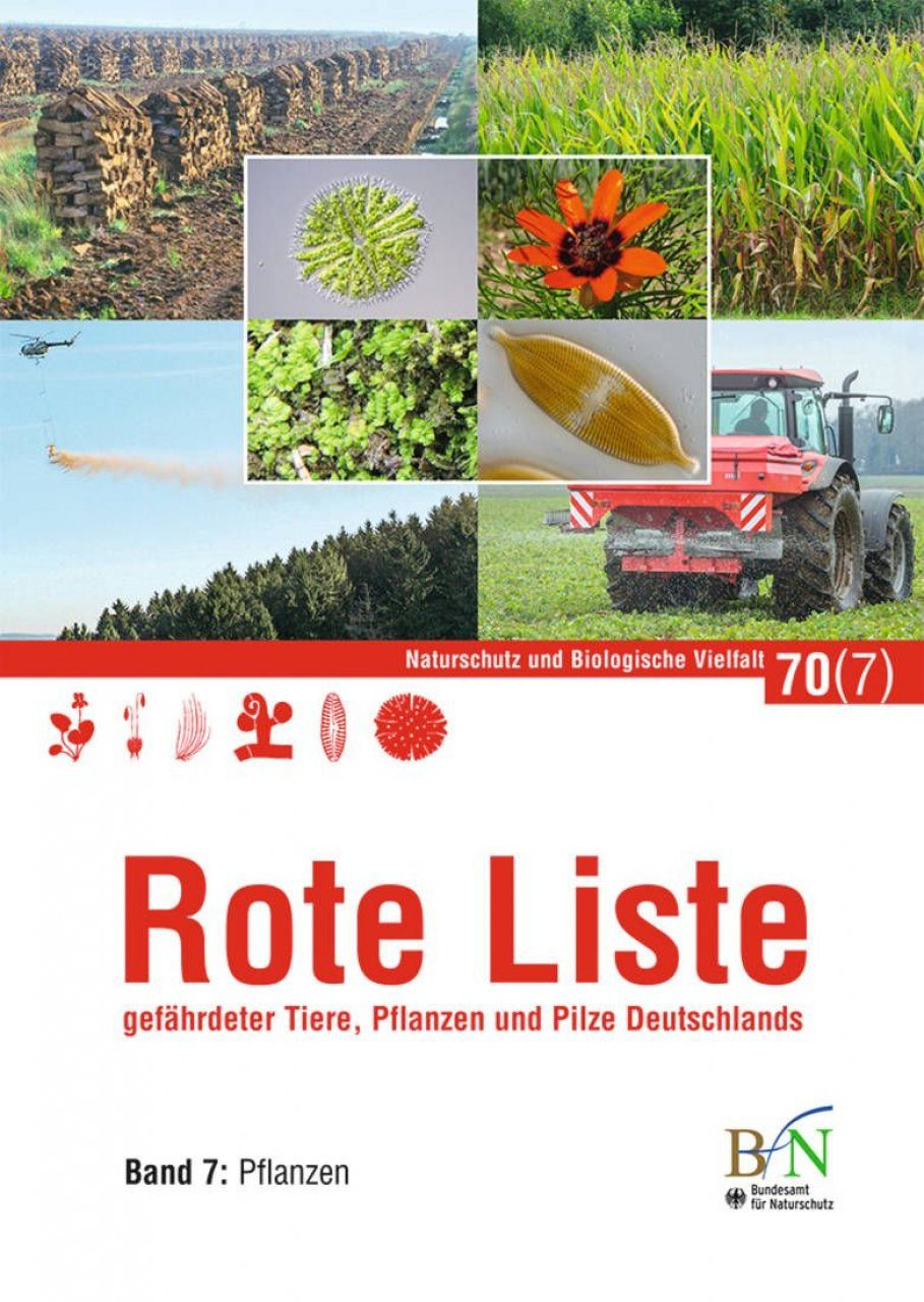 Rote Liste Gefährdeter Tiere, Pflanzen und Pilze Deutschlands, Band 7: PflanzenPilze [Red List of Endangered Animals, Plants and Fungi of Germany, Volume 7: Plants]