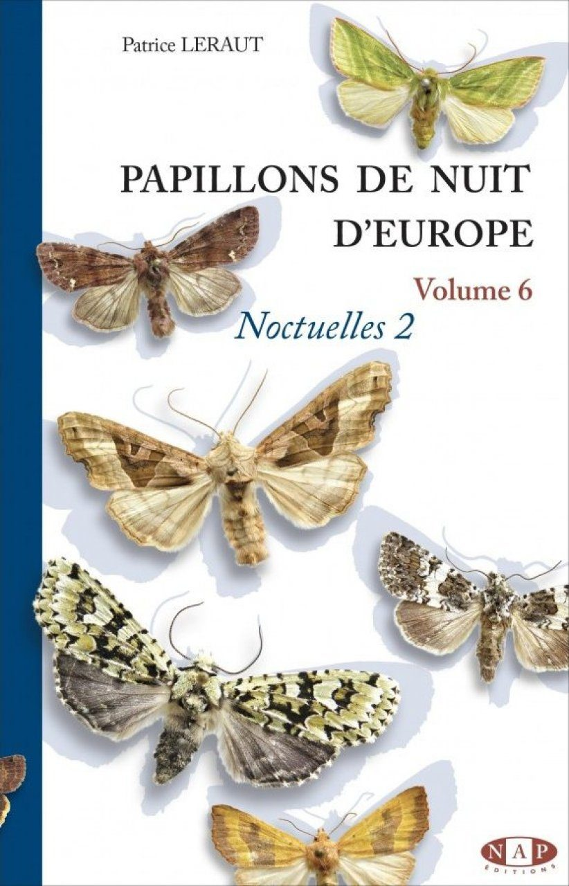 Papillons de Nuit d'Europe, Volume 6: Noctuelles 2 [Moths of Europe, Volume 6: Noctuids 2]