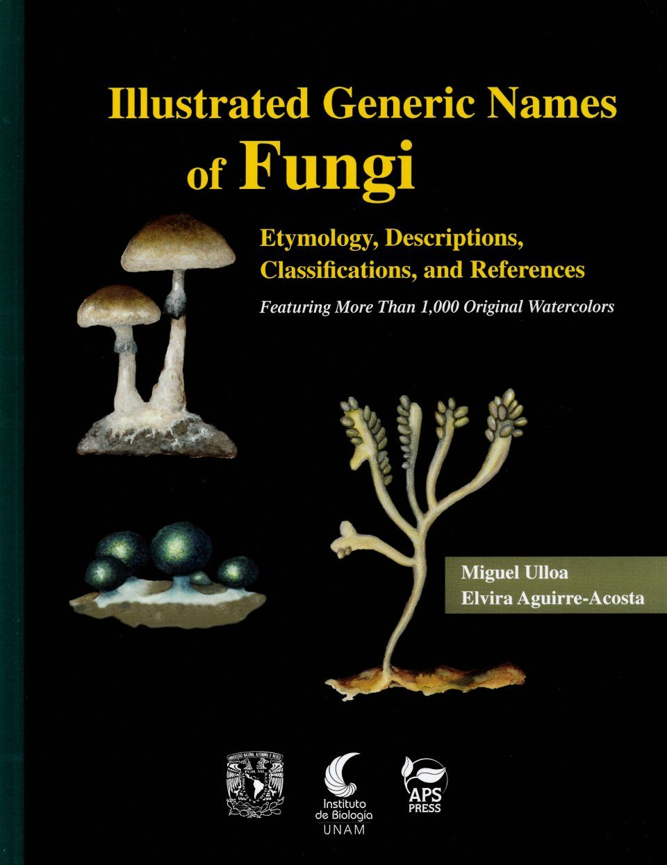 Illustrated Generic Names of Fungi Etymology, Descriptions, Classifications, and References