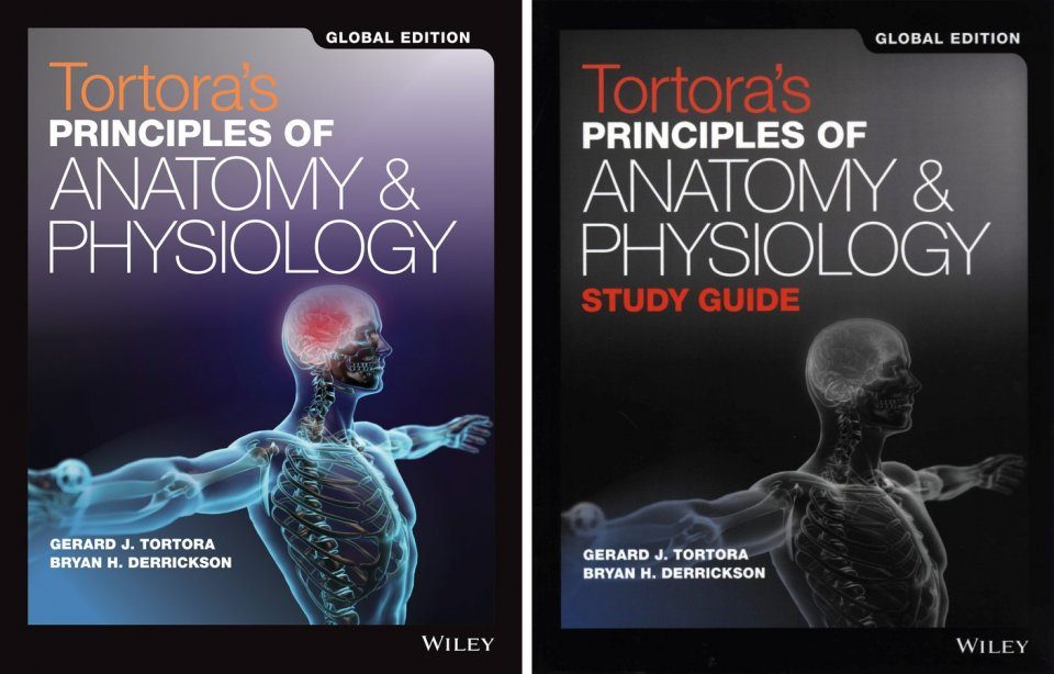 Tortora's Principles of Anatomy and Physiology (2-Volume Set)