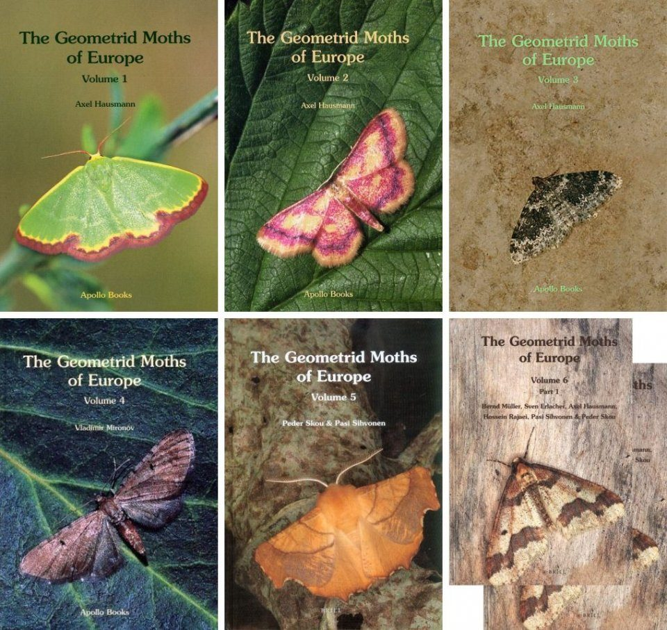 The Geometrid Moths of Europe (6-Volume Set)