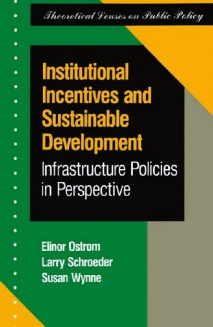 Institutional Incentives and Sustainable Development