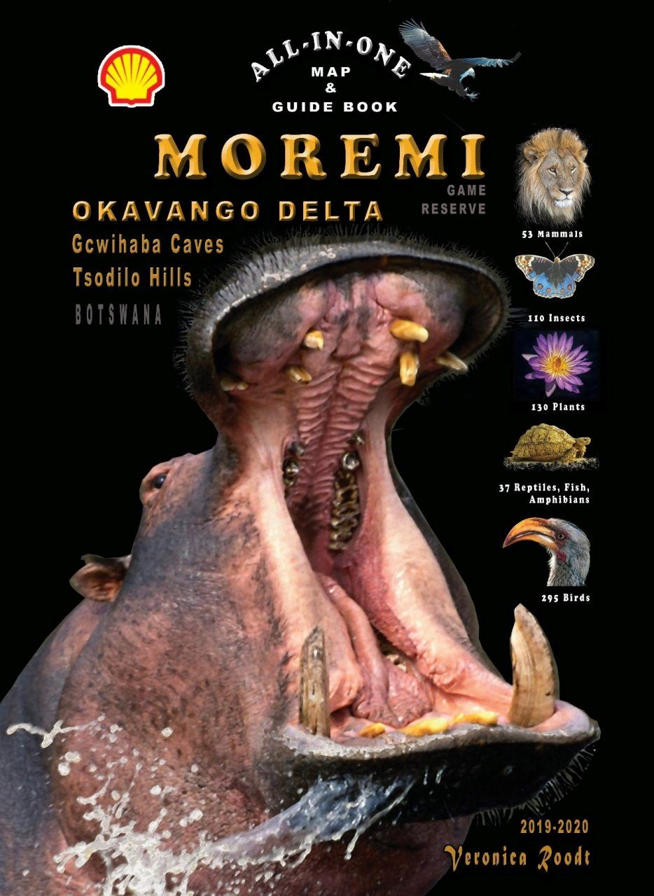 All-in-One Map & Guide Book – Moremi Game Reserve, Botswana
