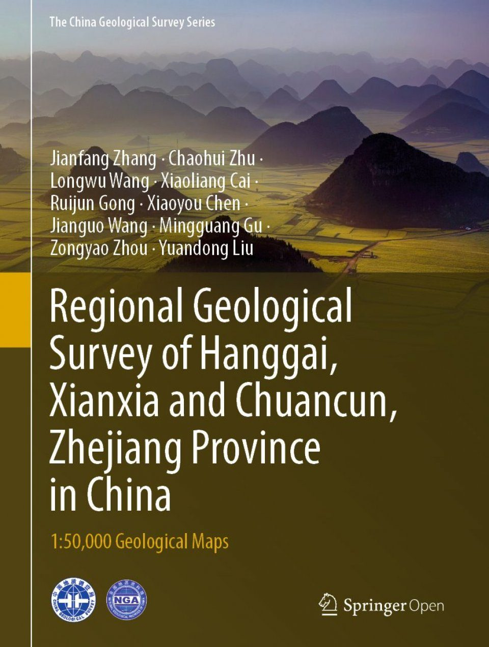 Regional Geological Survey of Hanggai, Xianxia and Chuancun, Zhejiang Province in China