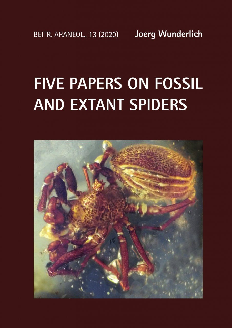 Five Papers on Fossil and Extant Spiders