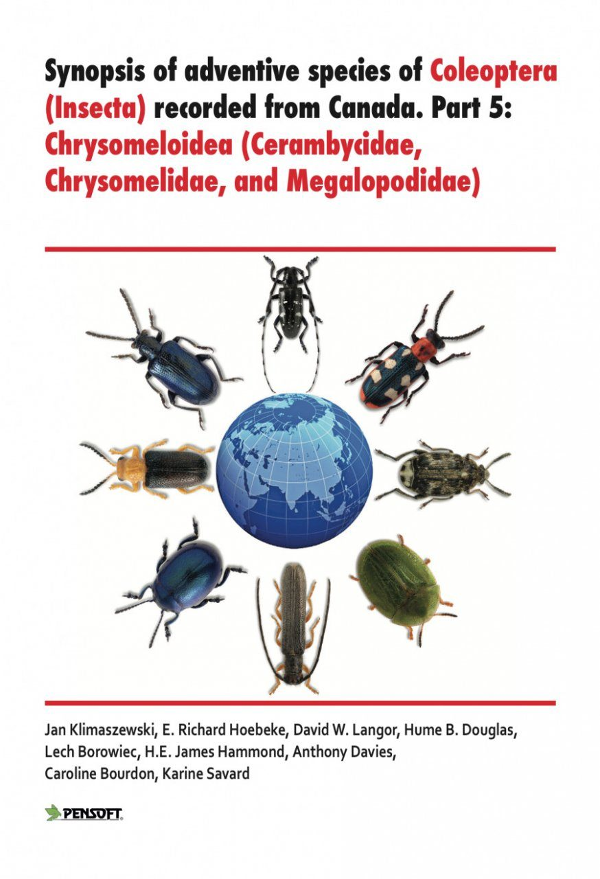 Synopsis of Adventive Species of Coleoptera (Insecta) Recorded from Canada, Part 5: Chrysomeloidea (Cerambycidae, Chrysomelidae, and Megalopodidae)