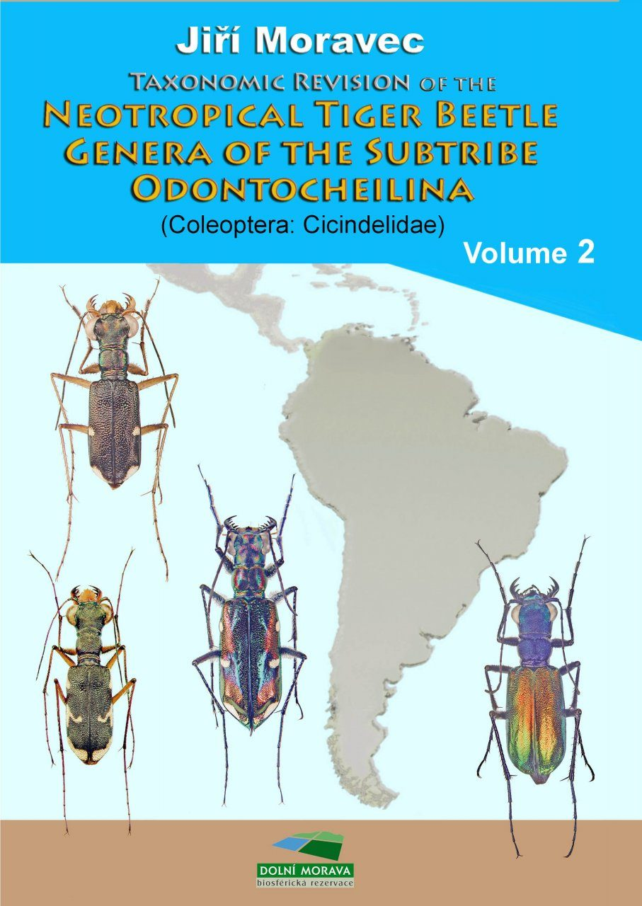 Taxonomic Revision of the Neotropical Tiger Beetle Genera of the Subtribe Odontocheilina (Coleoptera: Cicindelidae), Volume 2