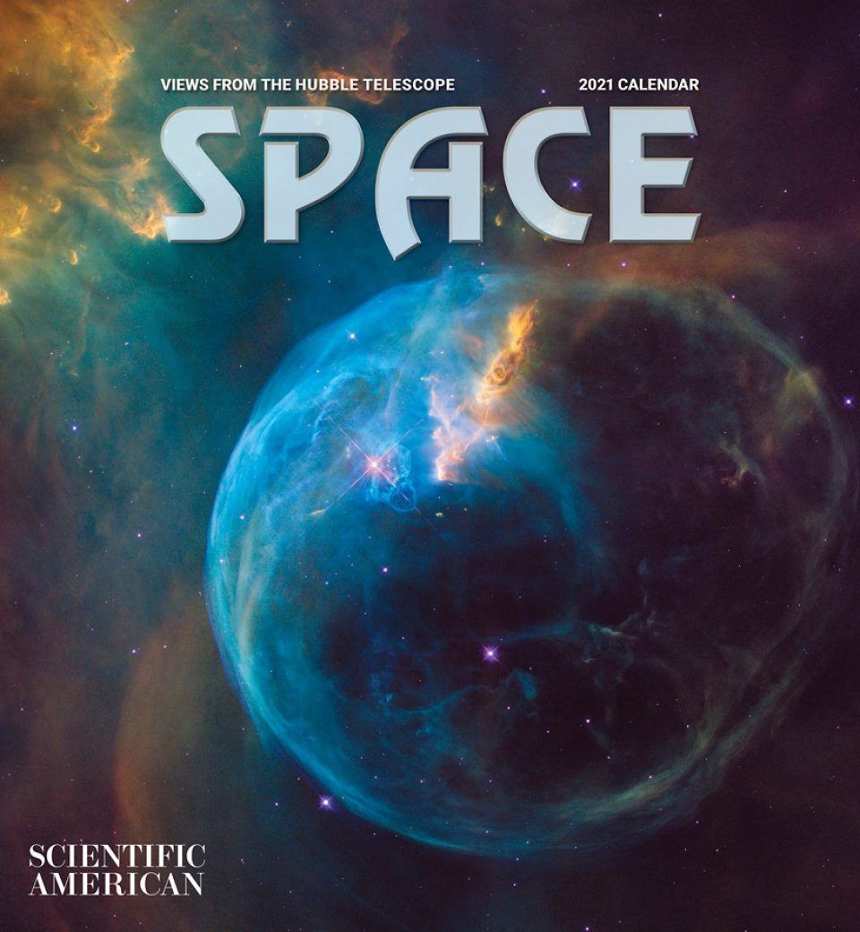 Space, Views from the Hubble Telescope: Wall Calendar 2021