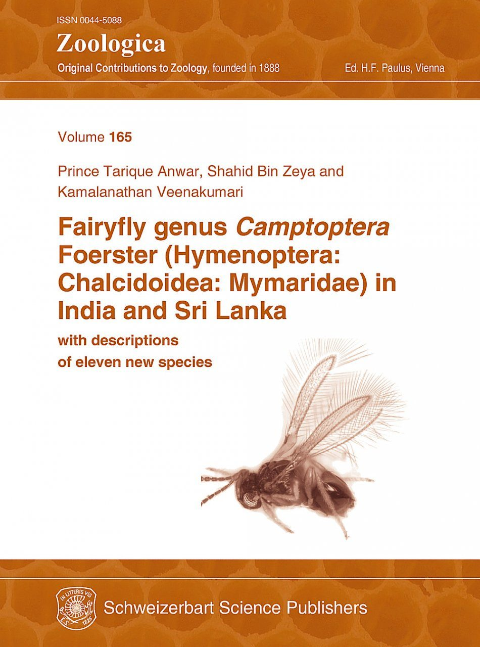 Fairyfly Genus Camptoptera Foerster (Hymenoptera: Chalcidoidea: Mymaridae) in India and Sri Lanka, with Descriptions of Eleven New Species