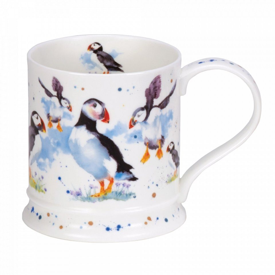 Watercolour Puffin Mug