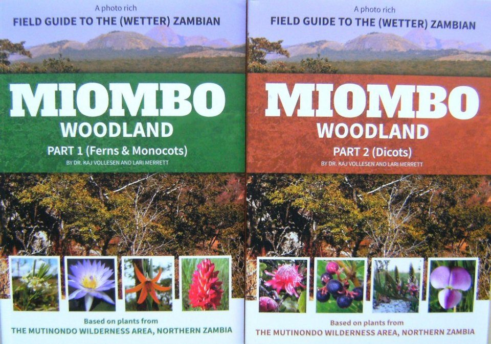 A Field Guide to the (Wetter) Zambian Miombo Woodland (2-Volume Set)