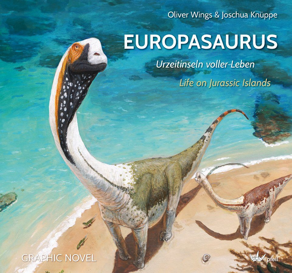 Europasaurus: Life on Jurassic Islands / Urzeitinseln voller Leben (Graphic Novel)