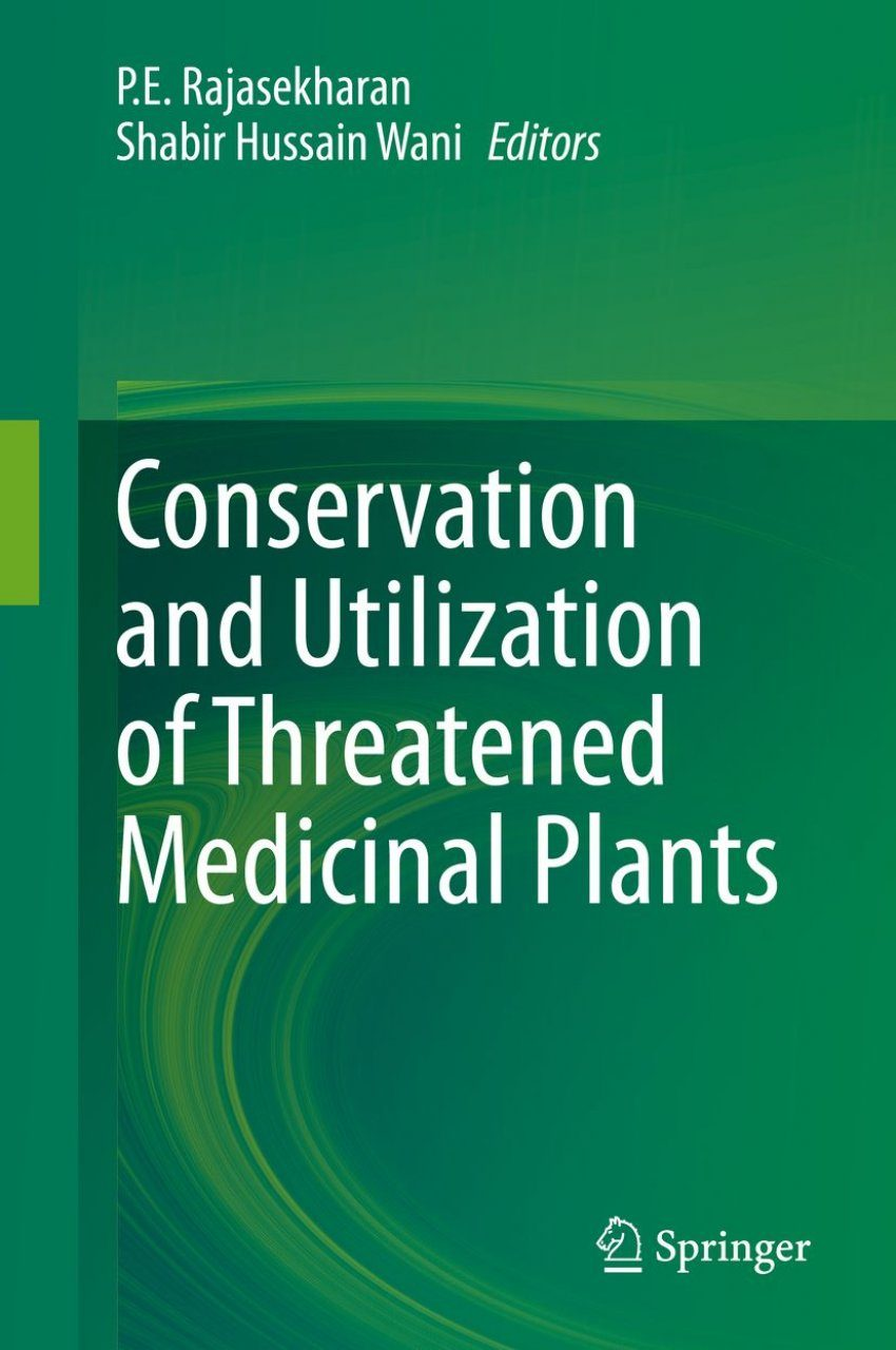 Conservation and Utilization of Threatened Medicinal Plants