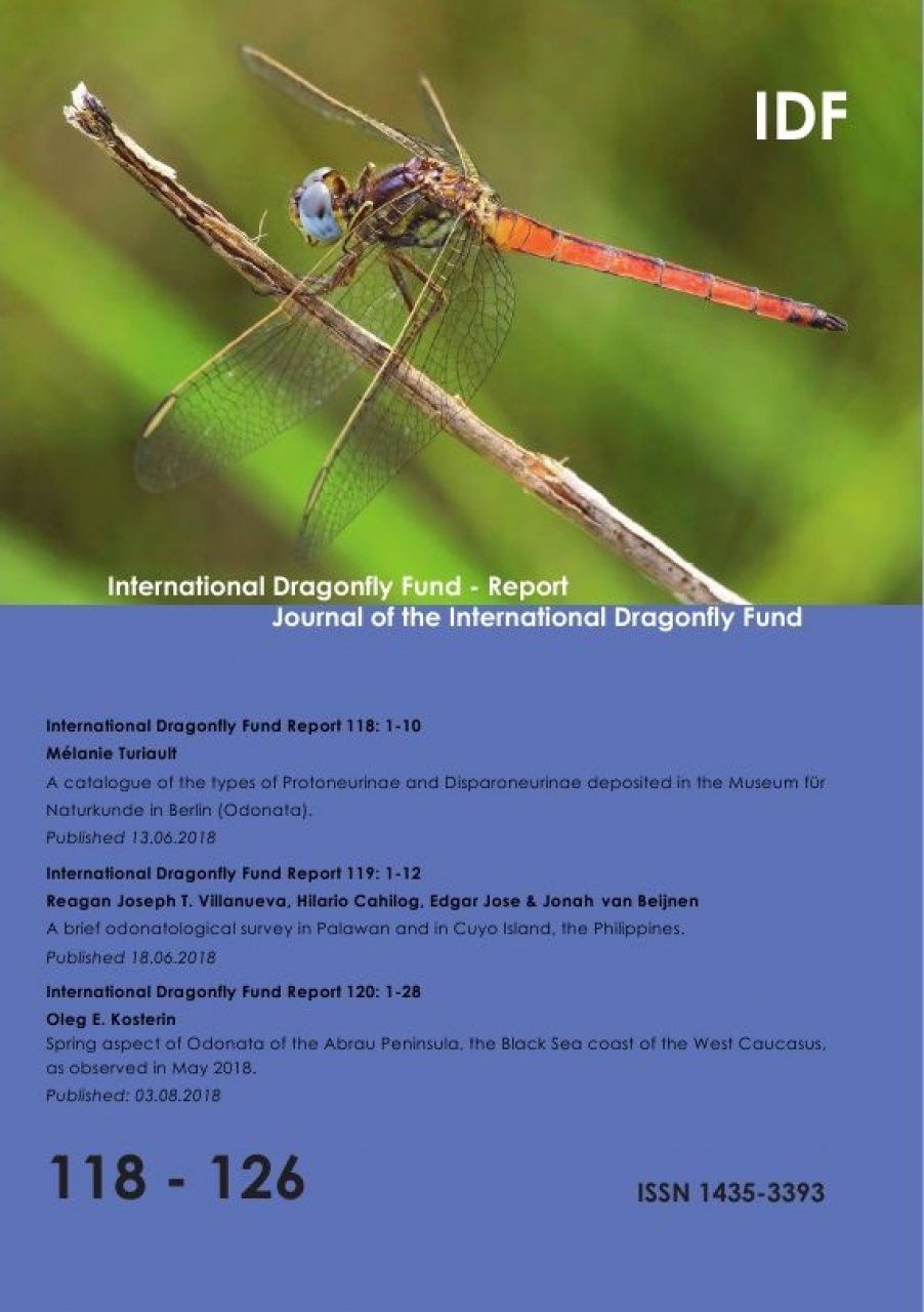 International Dragonfly Fund Report, Volume 118-126
