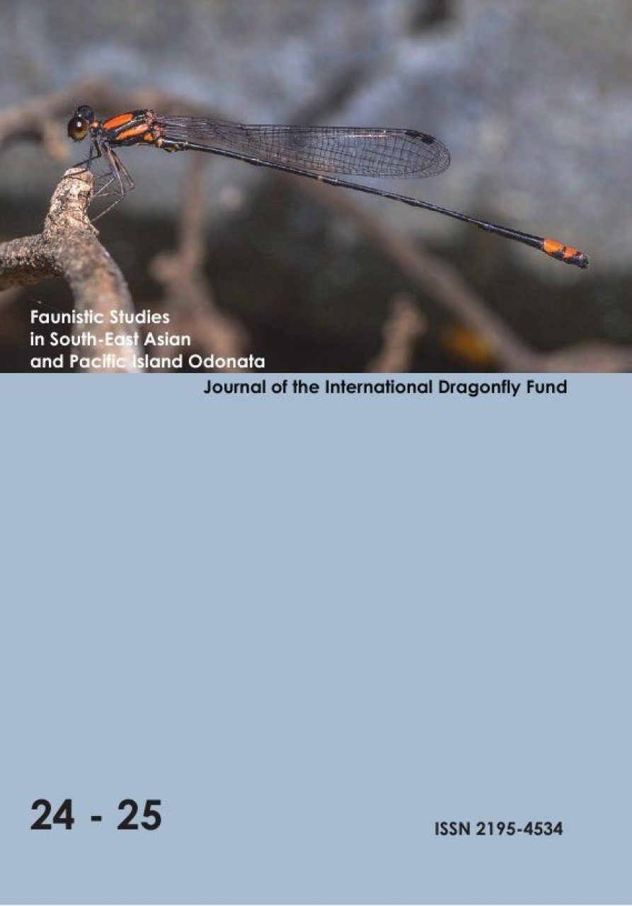 Faunistic Studies in South-East Asian and Pacific Island Odonata