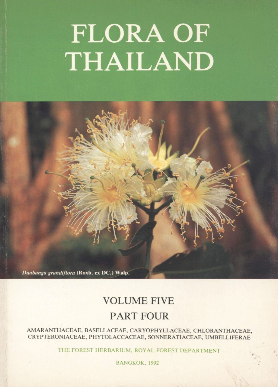 Flora of Thailand, Volume 5, Part 4