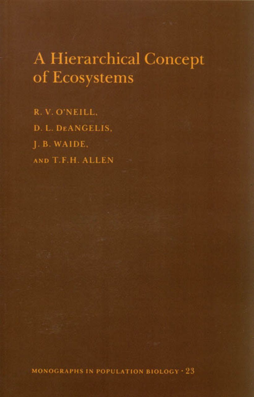 A Hierarchial Concept of Ecosystems
