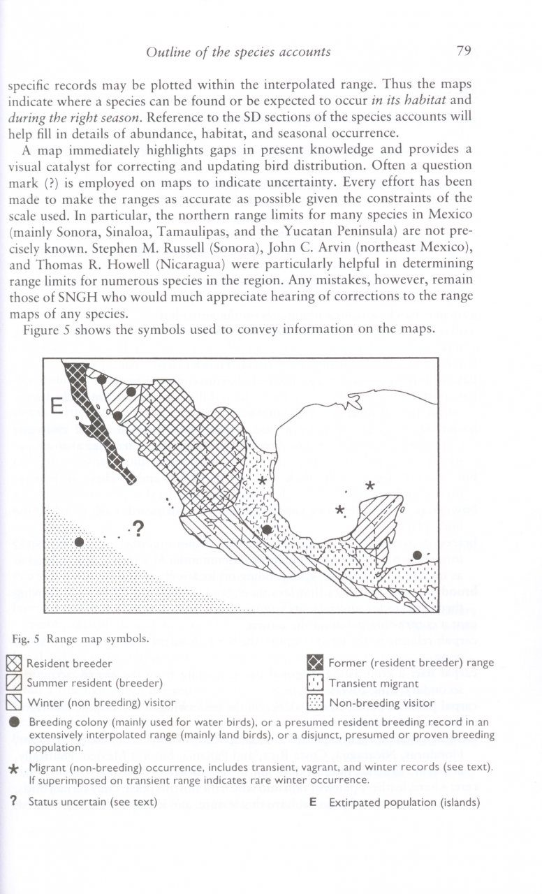 a guide to the birds of mexico and northern central america steve