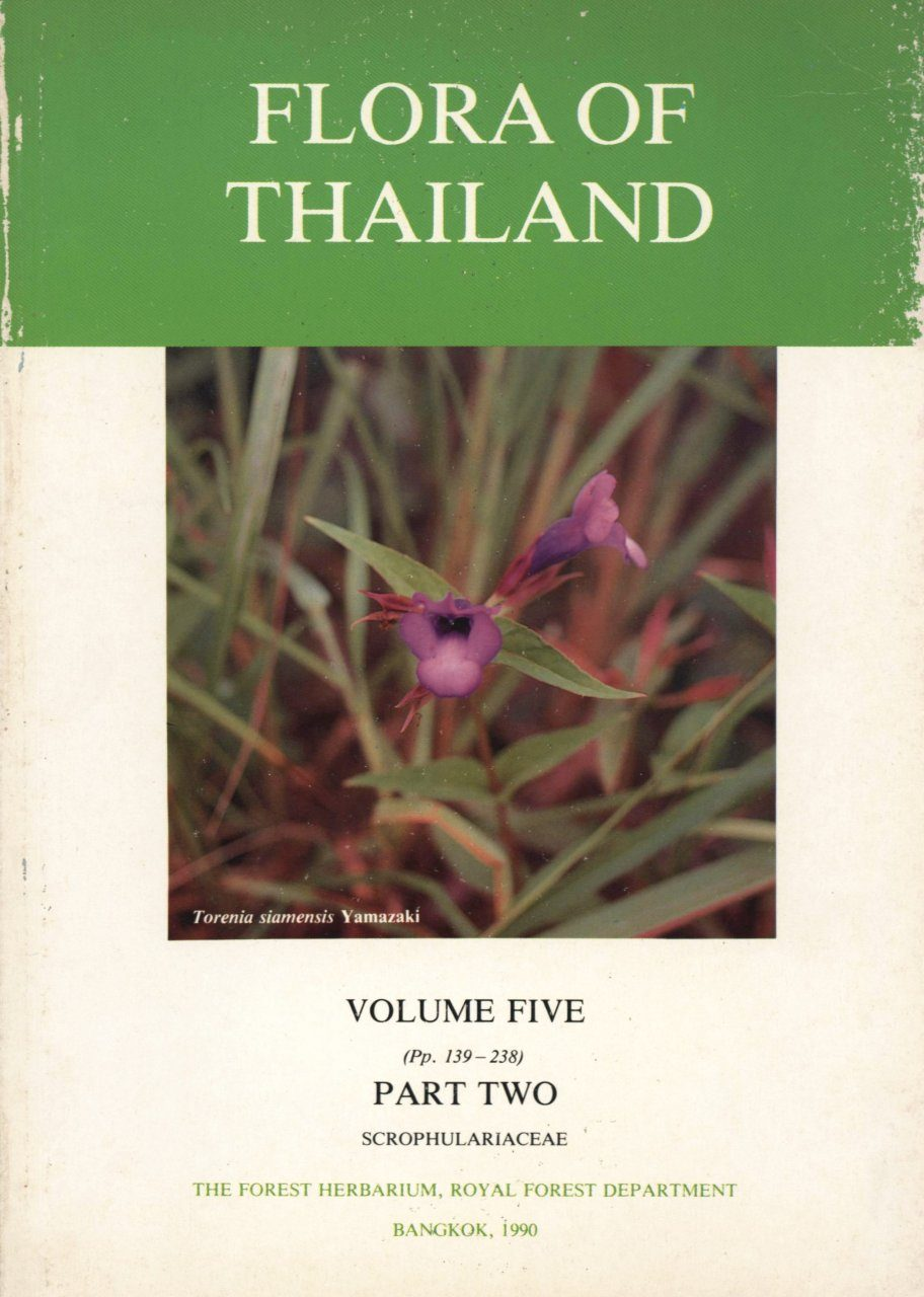 Flora of Thailand, Volume 5, Part 2