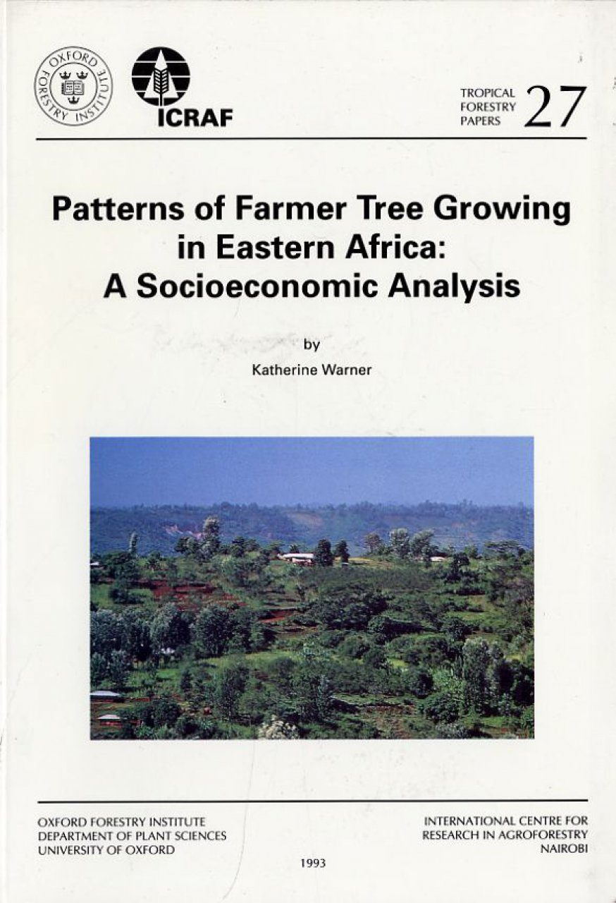 Patterns of Farmer Tree Growing in Eastern Africa