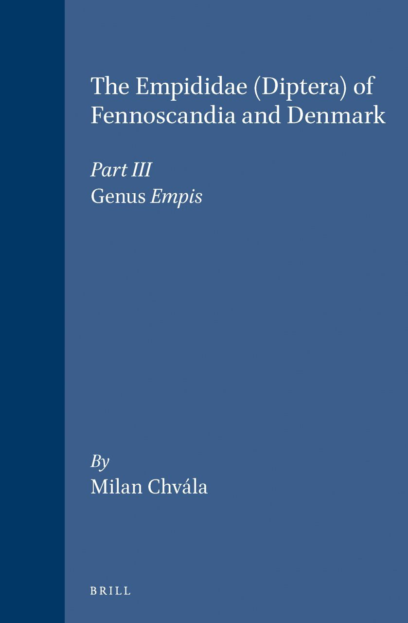 The Empidoidea (Diptera) of Fennoscandia and Denmark, Part 3