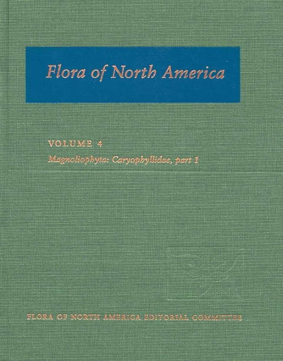 Flora of North America North of Mexico, Volume 4: Magnoliaphyta